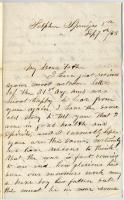 Pvt. John Sheahan on war losses, 1863