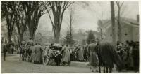 Gen. Oliver Otis Howard funeral, Vermont, 1909