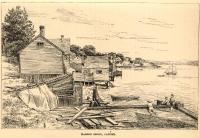 Harbor shore, Castine, 1891