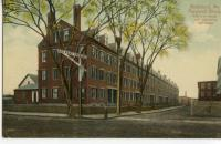 Pepperell boarding house block, Biddeford, ca. 1900