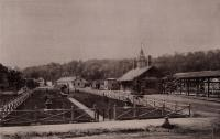 Maine Central Railroad station, Auburn, ca. 1883