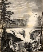 Grand falls of the river St. John, 1836