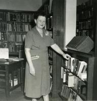 Agnes Mantor, Farmington State Normal School, ca. 1940