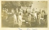 Spring Tea, Farmington State Normal School, 1930