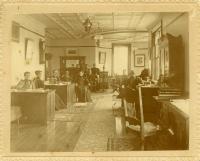 Teachers' Room, Farmington State Normal School, 1896