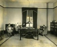 Mallett Hall Library, Farmington State Normal School, ca. 1936