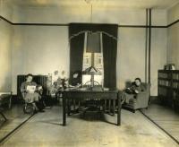 Mallett Hall Library, Farmington State Normal School, ca. 1936