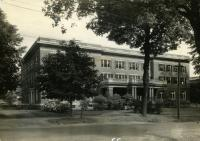 Purington Hall, Farmington State Normal School, 1936