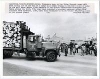 Boise Cascade strikers, Rumford, 1980