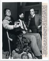 Courthouse accessibility protestors, Portland, 1982