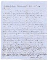 POW John Sheahan to Lizzie Shriver, 1864