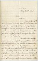 Letter about changes in North Carolina, 1865