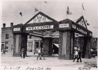 World War Victory gate, Houlton, 1919