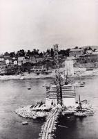 Building Madawaska to Edmunston bridge, 1921
