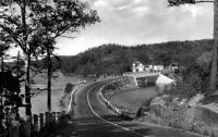 Road leading onto Orr's Island, ca 1940