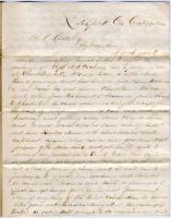 Request for prisoner exchange, Litchfield, 1864