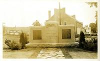 Veterans Memorial, Strong, ca. 1932