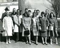 Departure on Senior Class Trip, Strong, 1961