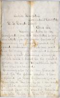 Letter seeking furlough to vote, Virginia, 1864