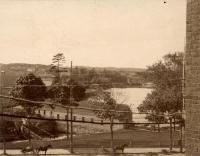 Canal Gate House from Emerson Park, Lewiston