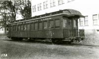 Dr. Charles Bell's parlor car, Strong, ca. 1936