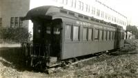 S.R.R.L. parlor car acquired by Dr. Charles W. Bell, Strong, ca. 1936