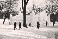 Ice Palace, Lewiston, 1925