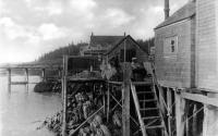 Orr's Island pier, ca. 1930