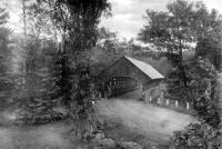 Covered bridge, Bethel, ca. 1940