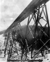 Railroad Bridge, Bingham, ca. 1920
