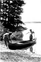 Canoeing in Jefferson, ca. 1950