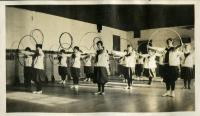 Gym class, Farmington State Normal School, ca. 1917