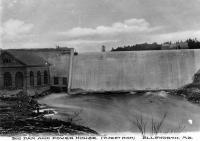 Big dam and powerhouse, Ellsworth