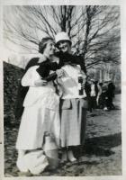 Farmington State Normal School picnic performers, ca. 1917