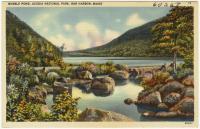 Bubble Pond, Acadia National Park, Bar Harbor, ca. 1935