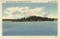 Cuba Island, Lake Cobbosseecontee, ca. 1938