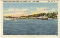"Steamer ""Gurnet,"" Little Diamond Island, ca. 1935"