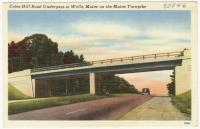 Coles Hill Road underpass, Wells, ca. 1948