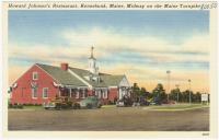 Howard Johnson's Restaurant, Kennebunk, ca. 1935