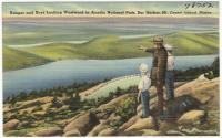 Acadia National Park ranger and boys, ca. 1935