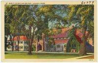 St. Mark's Church and rectory, Augusta, ca. 1938