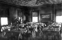 Elks Lodge dining room, Houlton, ca. 1920