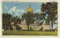 State Capitol, Augusta, ca. 1938
