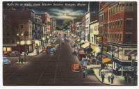 Main St. from Market Square, Bangor, ca. 1938