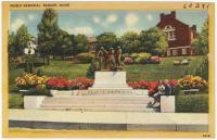 Peirce Memorial, Bangor, ca. 1935
