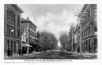 Looking up Court Street, Houlton