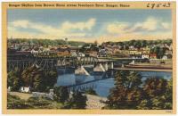 Bangor skyline, ca. 1938