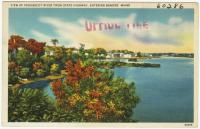 View of Penobscot River near Bangor, ca. 1938