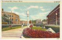 Kenduskeag Mall, Bangor, ca. 1935