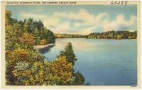 Penobscot River, The Narrows, Bangor, ca. 1938